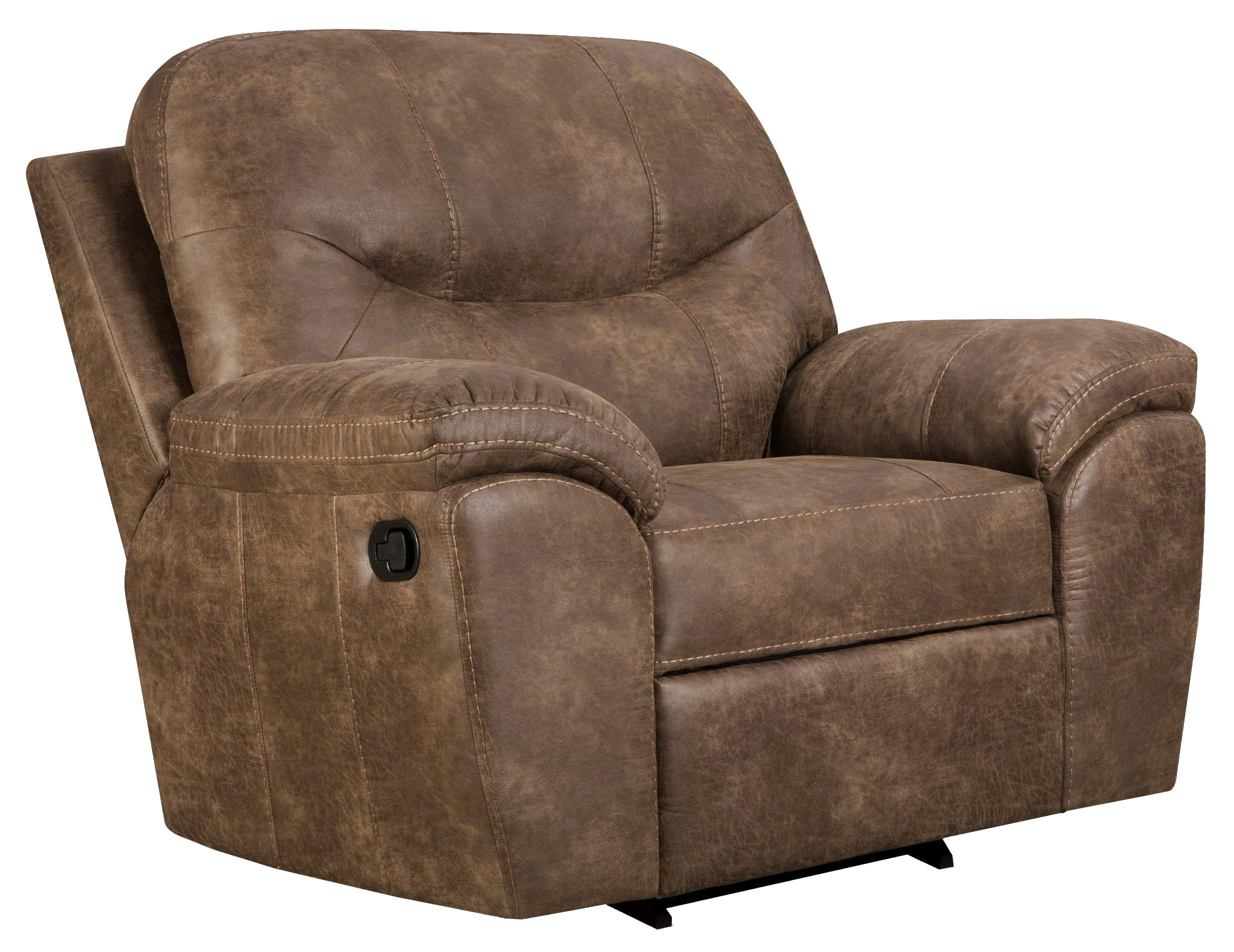 Corinthian Ulyses River Rock Recliner - Item Number: 18A1