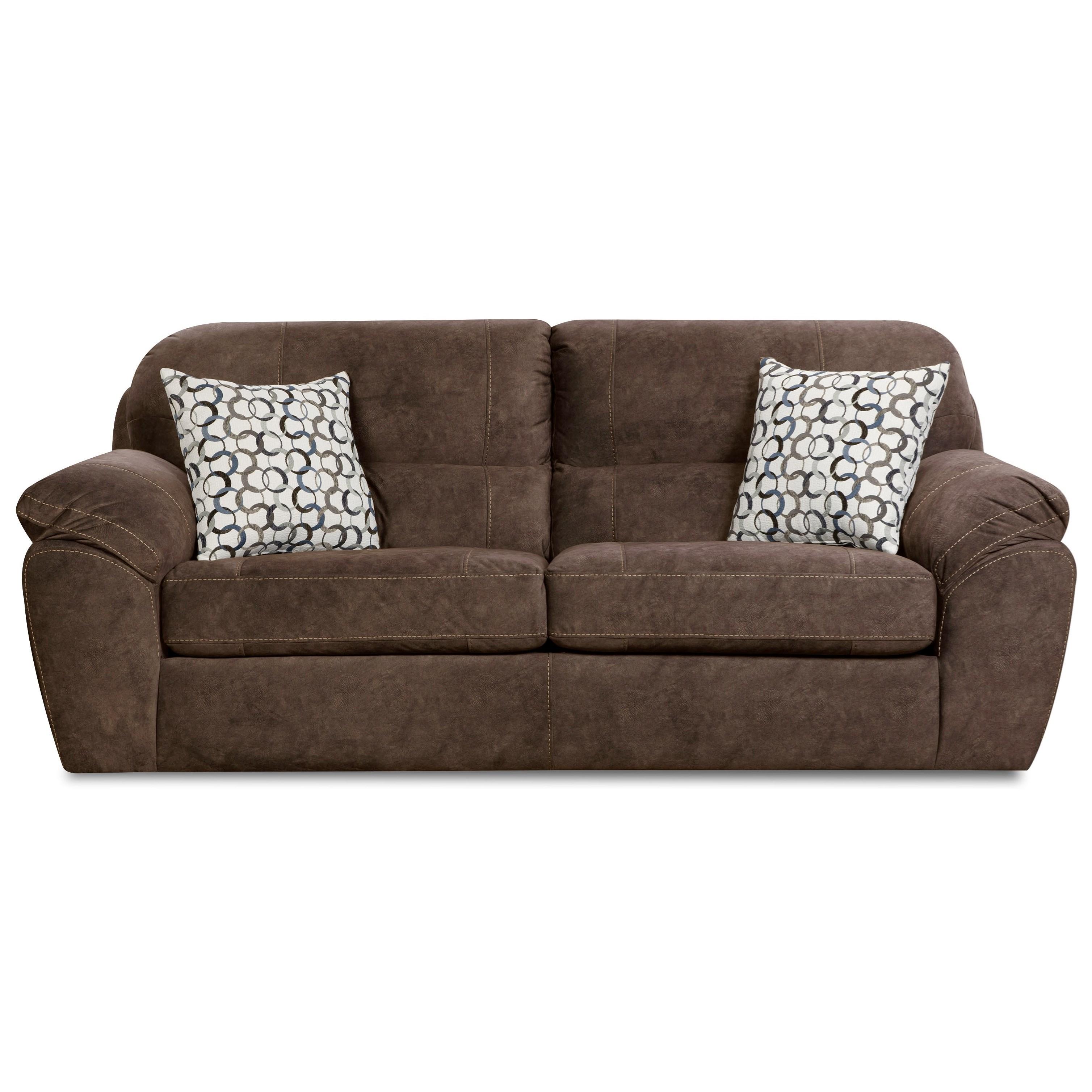 Corinthian 18D0 Sofa - Item Number: FG18D3-IMPRINT-COCOA