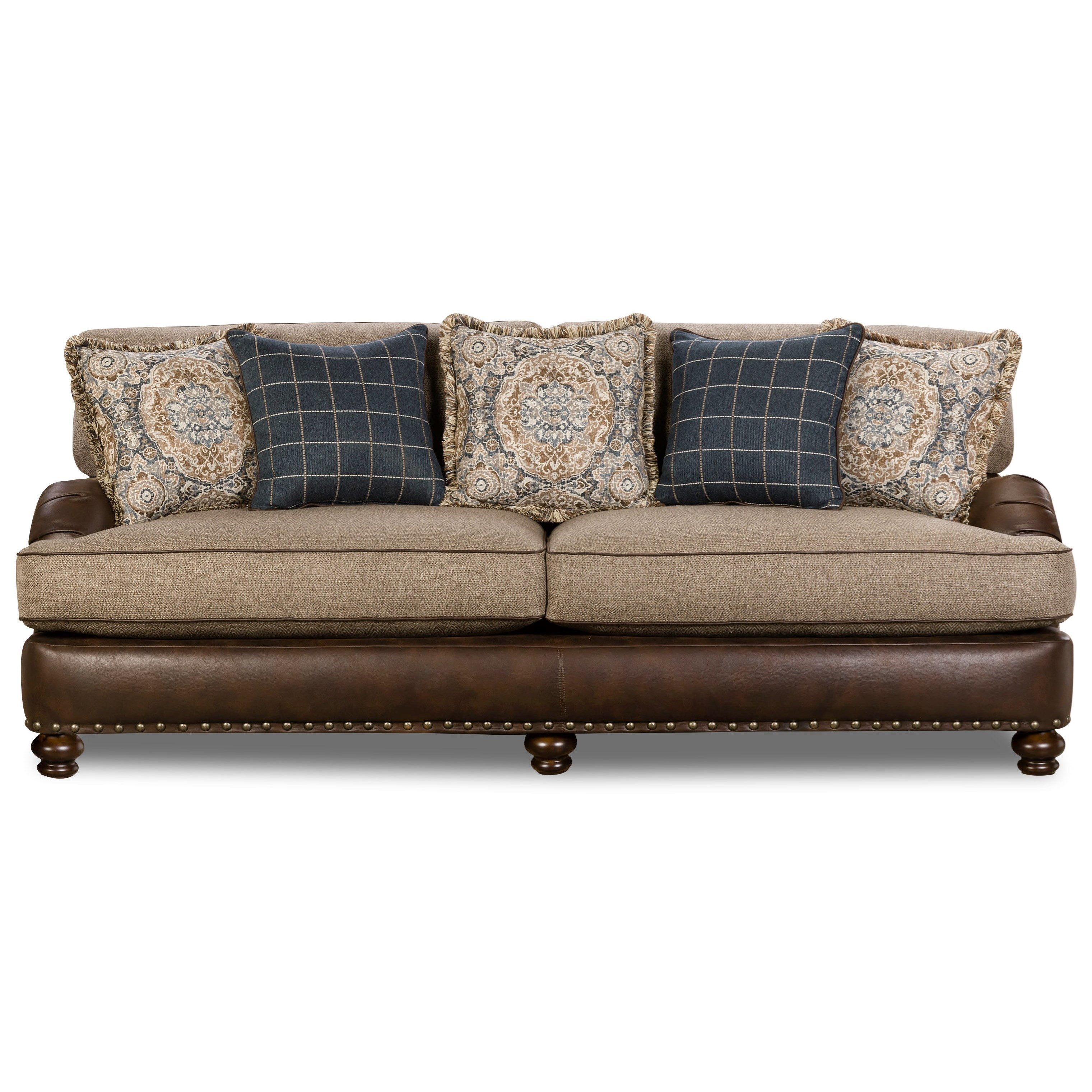 Corinthian 5300 Traditional Styled Sectional Sofa With: Corinthian 2000 Traditional Sofa