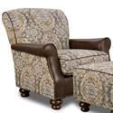 Corinthian 2000 Accent Chair - Item Number: AC2320-Villanova-Cognac