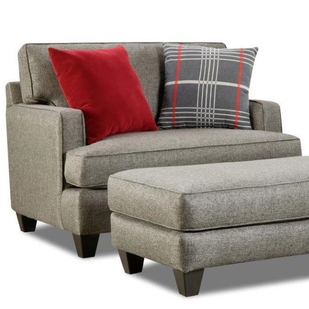 26E0 Upholstered Chair by Corinthian at Story & Lee Furniture