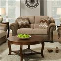 Corinthian 27A0 Loveseat - Item Number: 27A2