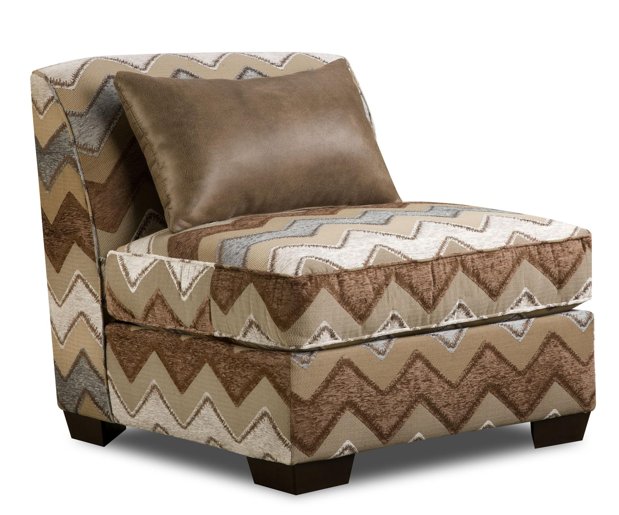 27A0 Armless Slipper Chair by Corinthian at Story & Lee Furniture