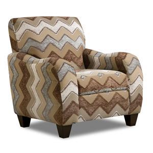 Corinthian 27A0 Zig Zag Casual Arm Chair