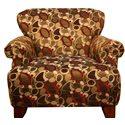 Corinthian 2820 Accent Chair - Item Number: AC128