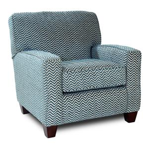 Corinthian 28A0 Contrast Accent Chair