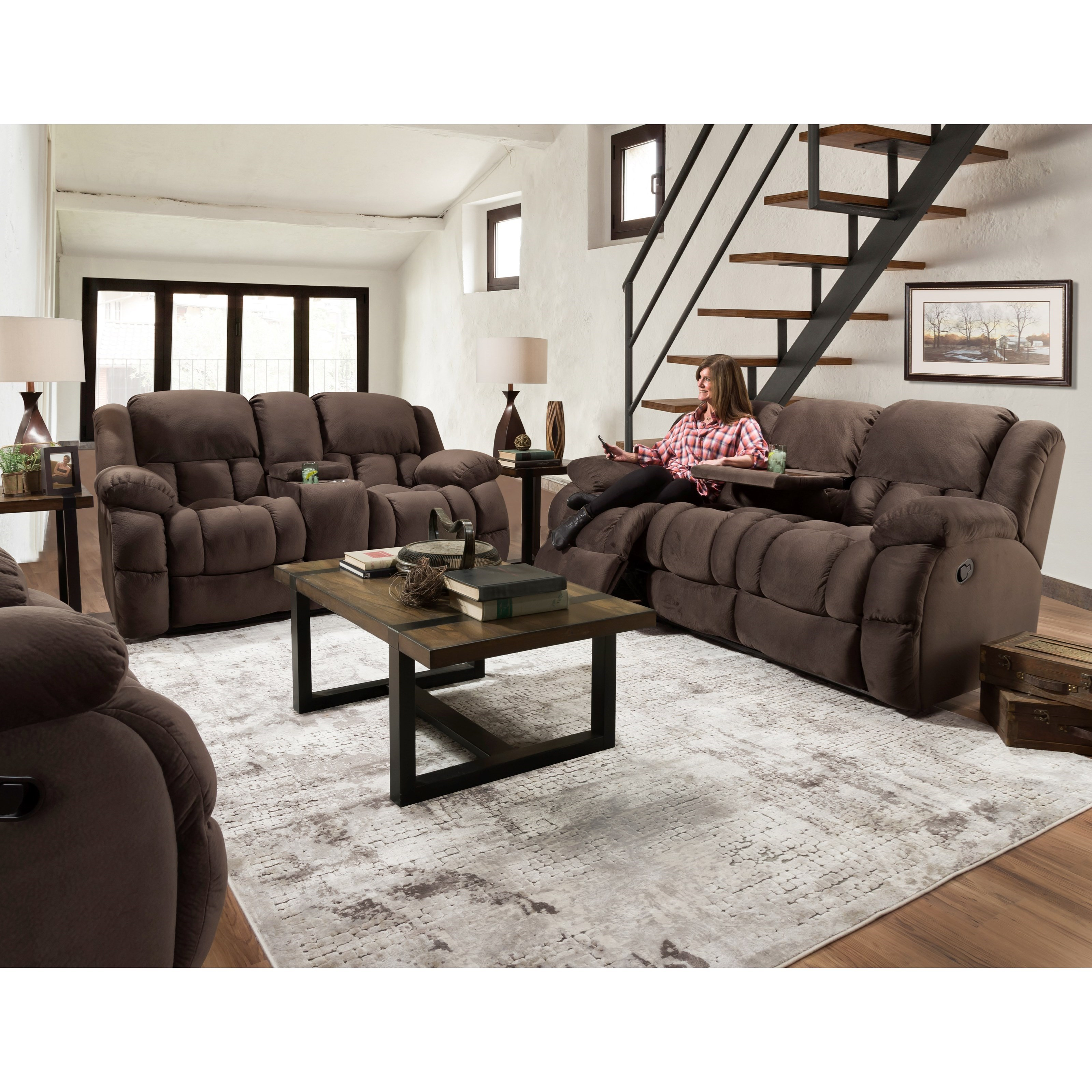 29901 Reclining Living Room Group by Corinthian at Story & Lee Furniture