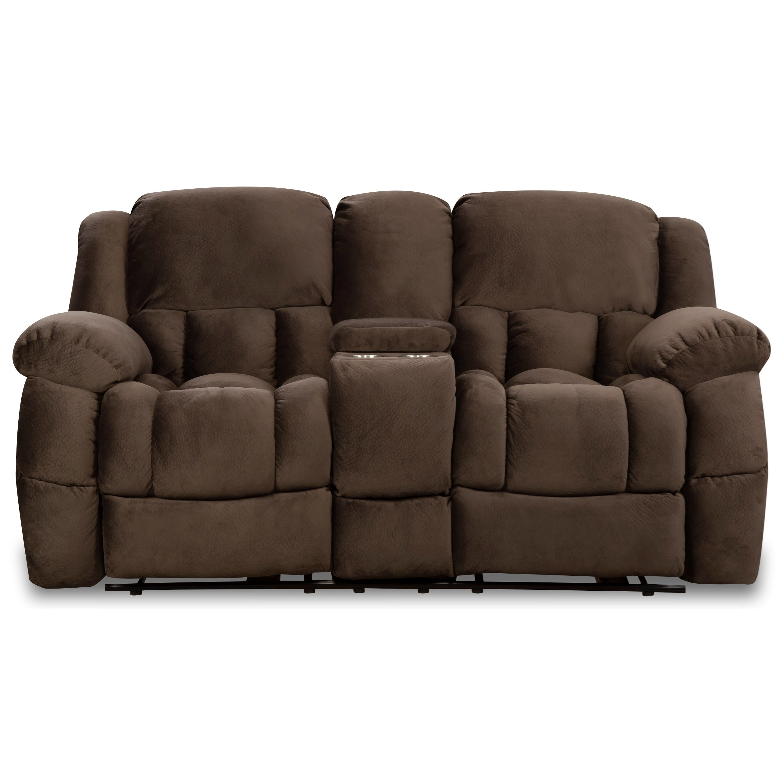29901 Reclining Loveseat with Console by Corinthian at Story & Lee Furniture