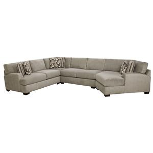 Corinthian 29A0 Sectional Sofa