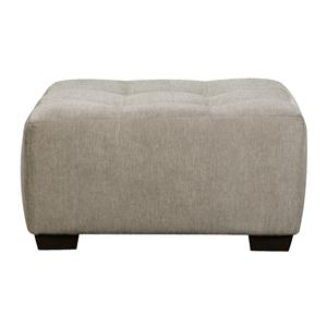 Corinthian 29A0 Cocktail Ottoman with Tufted Seat