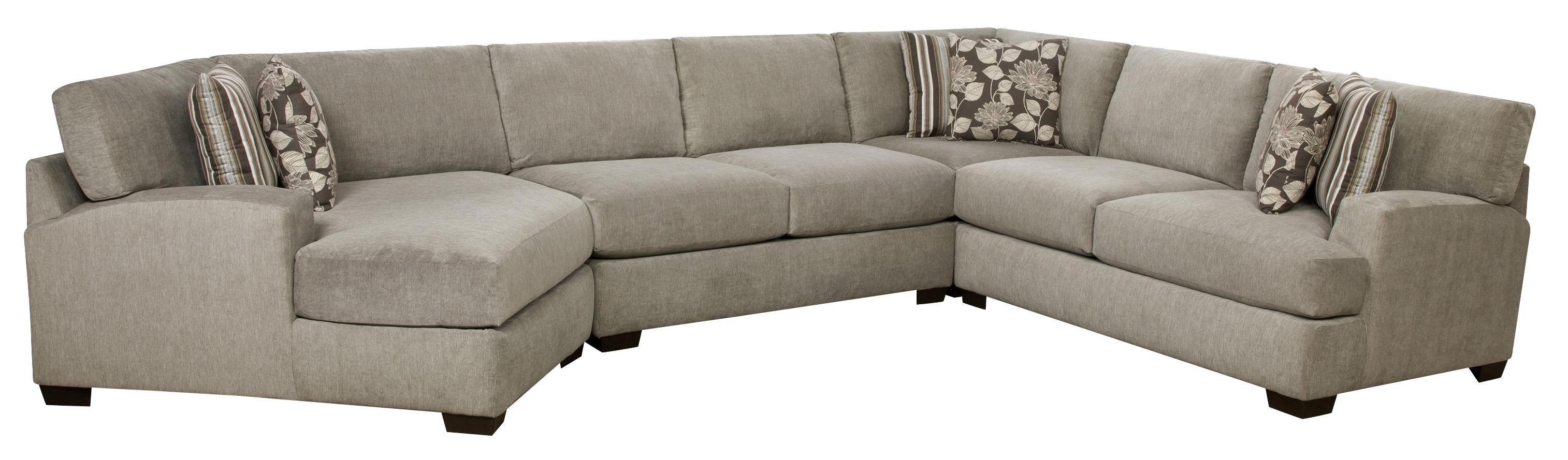 Corinthian 29A0 Sectional Sofa - Item Number: 29A9RF+2NA+1CP+2LF