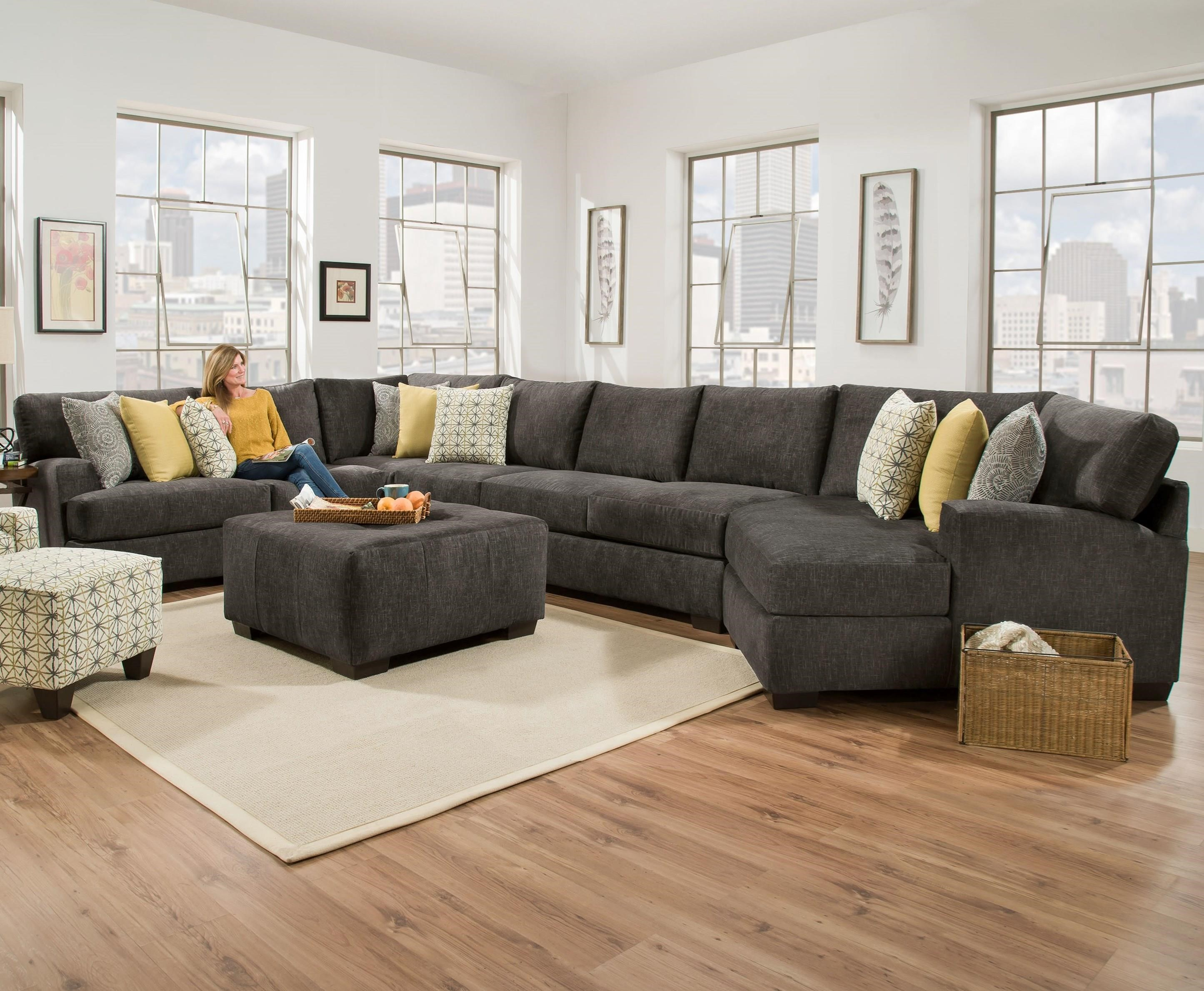 Extra Large Sectional for 6