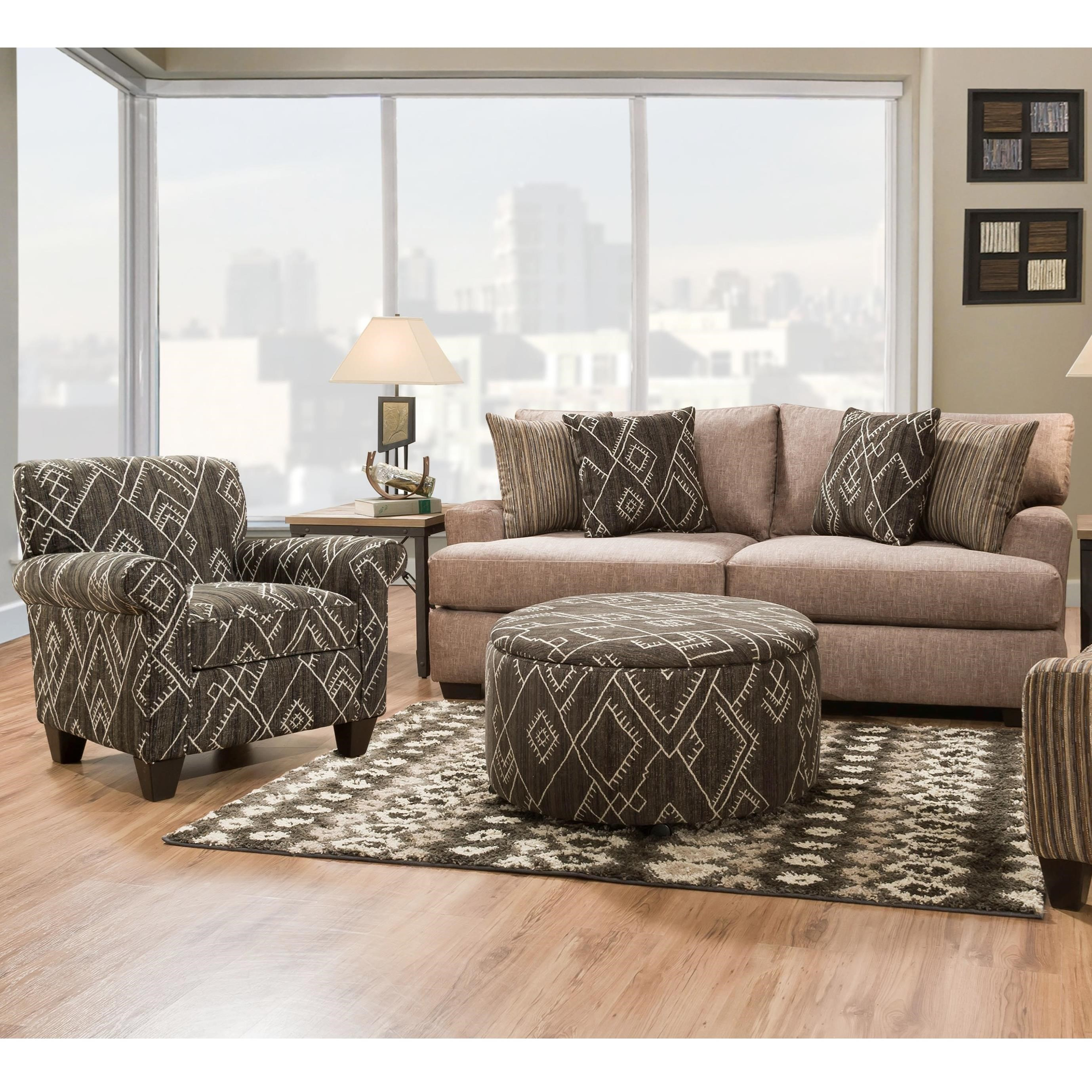 29D0 Stationary Living Room Group by Corinthian at Story & Lee Furniture