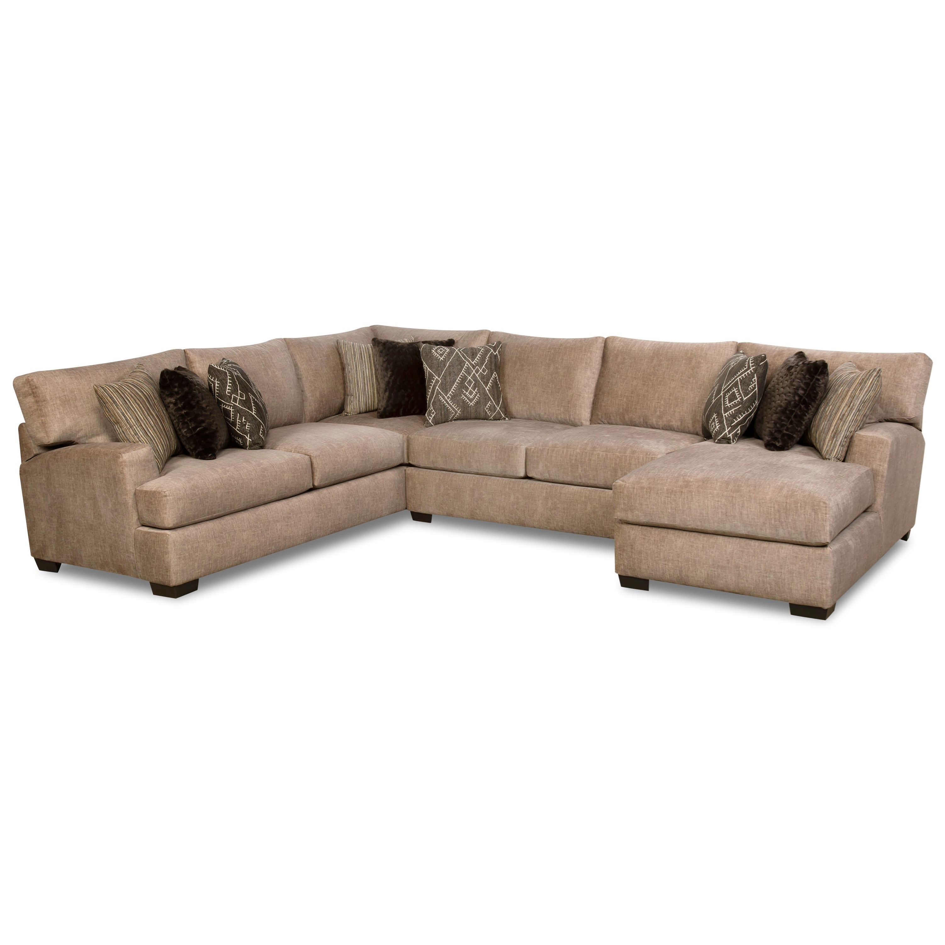 29D0 3-Piece Sectional by Corinthian at Story & Lee Furniture
