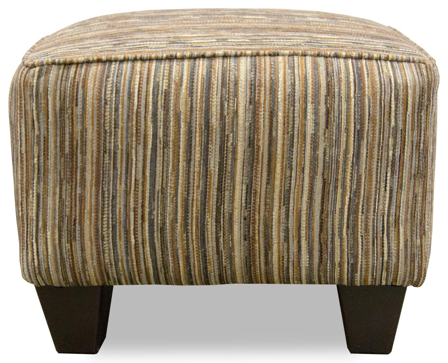 Corinthian Alton Awesome Cornerstone Accent Ottoman - Item Number: AO2029D