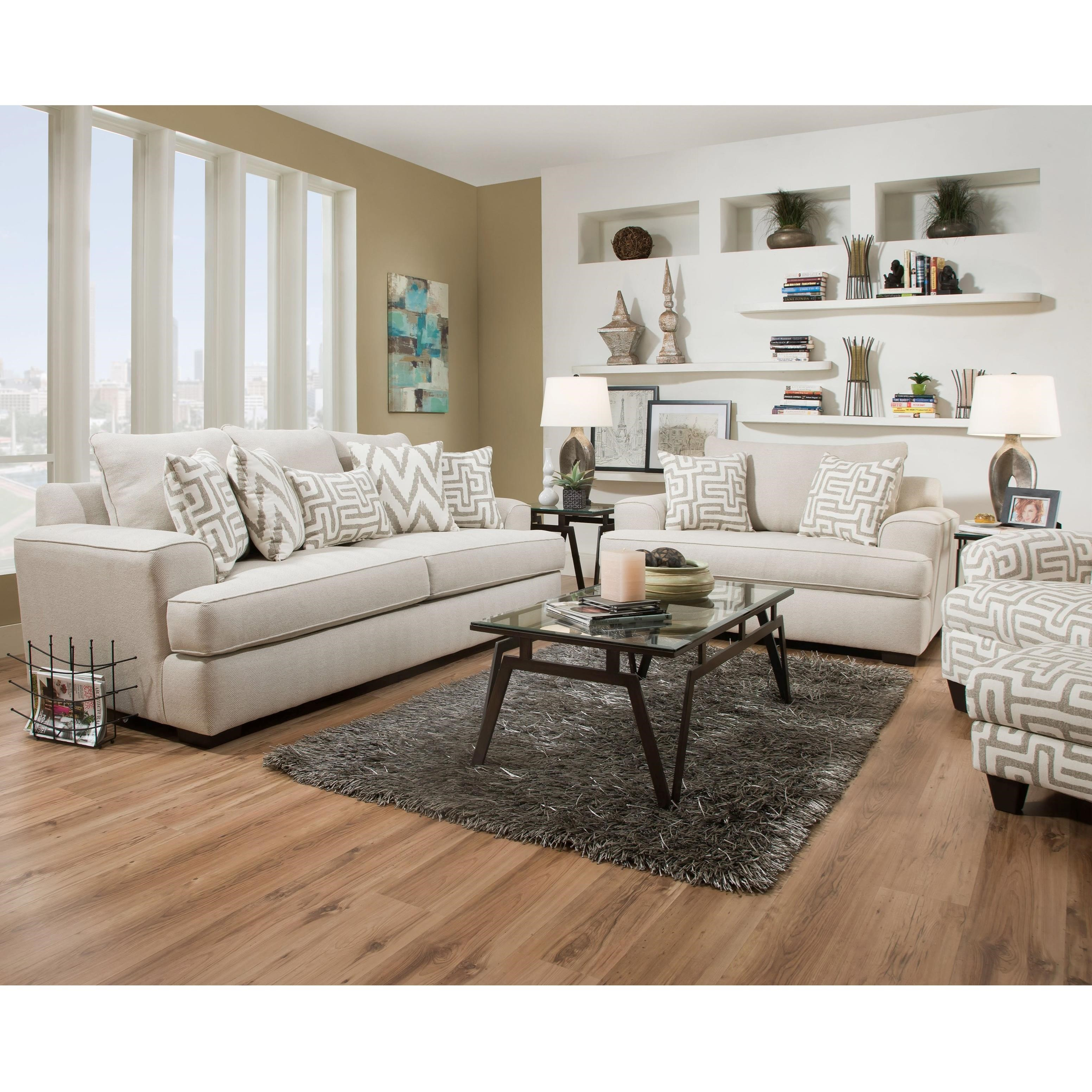32B0 Stationary Living Room Group by Corinthian at Story & Lee Furniture