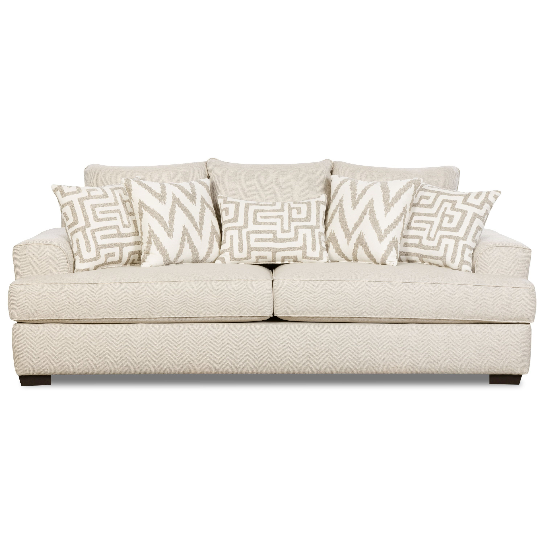 Corinthian Colonist 32b3 Contemporary Sofa Great