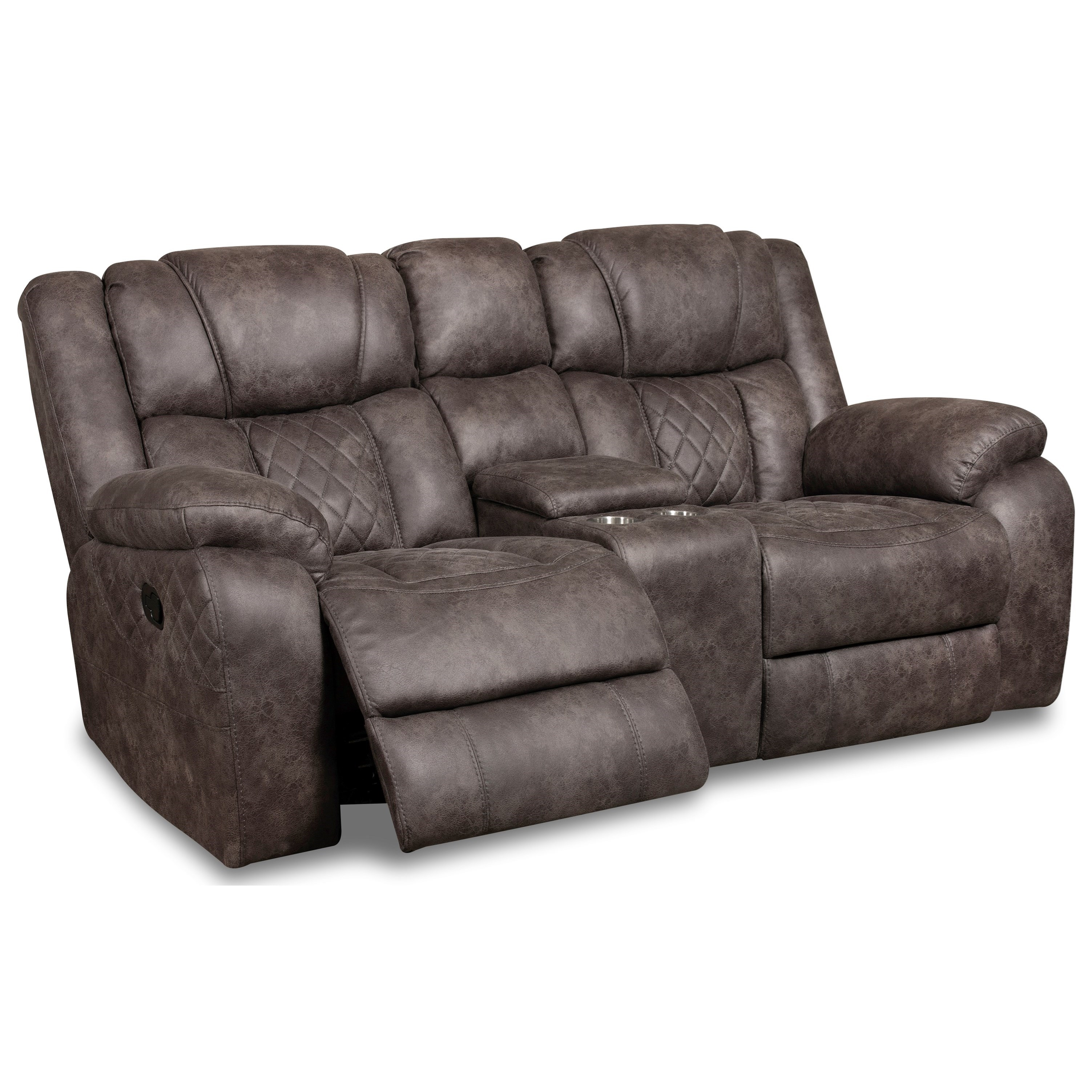 34803 Reclining Loveseat with Console by Corinthian at Story & Lee Furniture