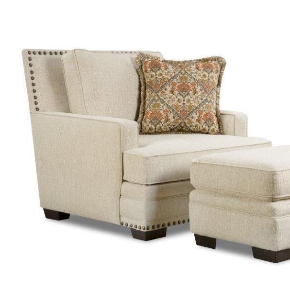 Corinthian Sugarshack Linen Chair - Item Number: CORI-34A1
