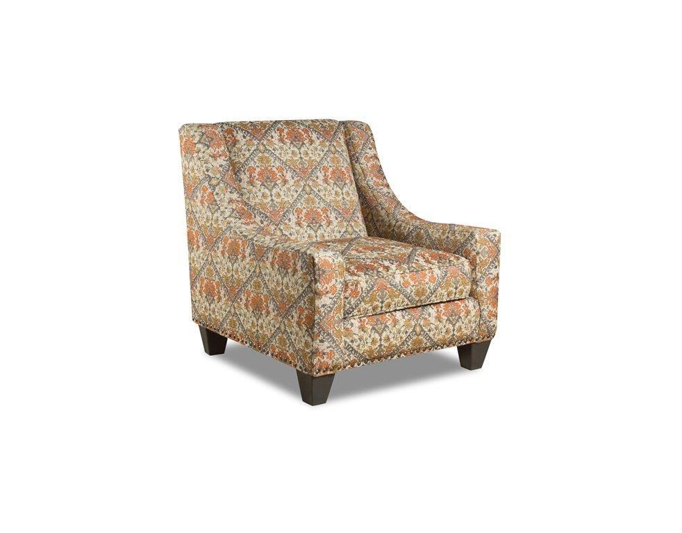 Corinthian Sugarshack Linen Tavi Autumn Accent Chair - Item Number: CORI-AC2034A
