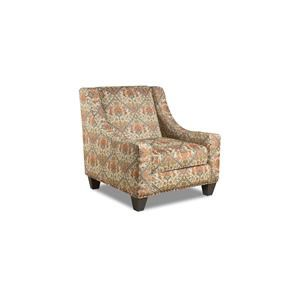 Corinthian Sugarshack Linen Tavi Autumn Accent Chair