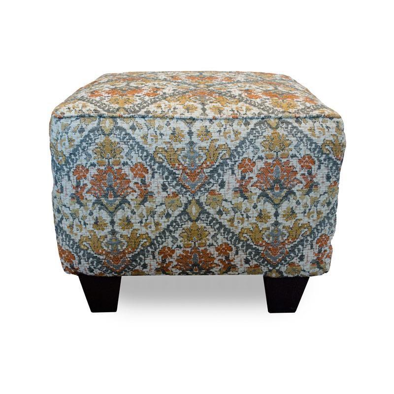 Corinthian Sugarshack Linen Tavi Autumn Accent Ottoman - Item Number: CORI-AO2034A