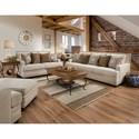 Centurion 34B0 Stationary Living Room Group - Item Number: 34B0 Living Room Group 2