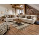 Corinthian 34B0 Stationary Living Room Group - Item Number: 34B0 Living Room Group 3