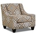 Corinthian 34B0 Accent Chair - Item Number: AC2034B-Monarch-Linen