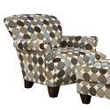 Corinthian 3850  Accent Chair - Item Number: AC136