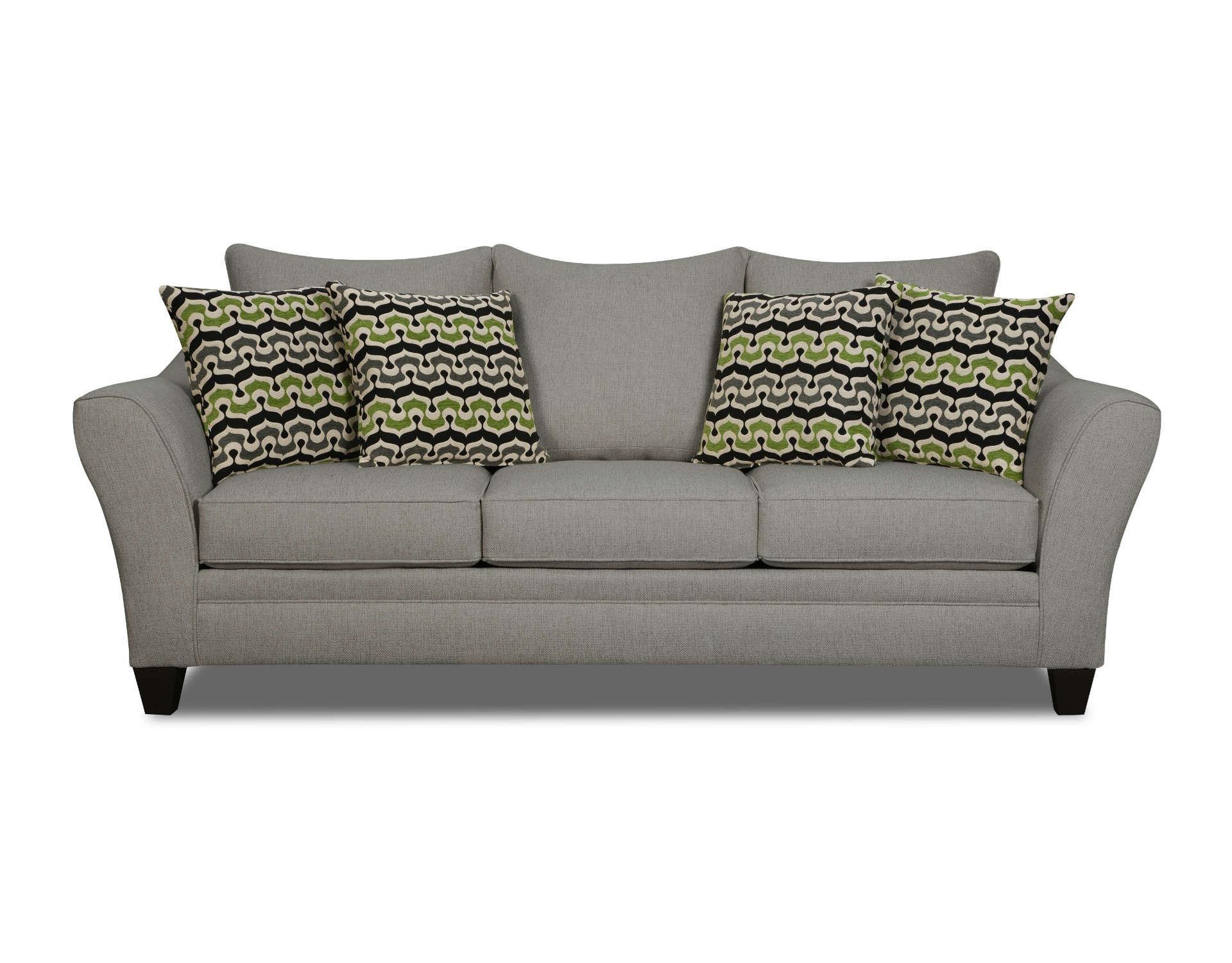 Corinthian Ocala Slate Sofa - Item Number: 40b3