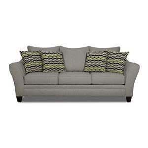 Corinthian Ocala Slate Sofa