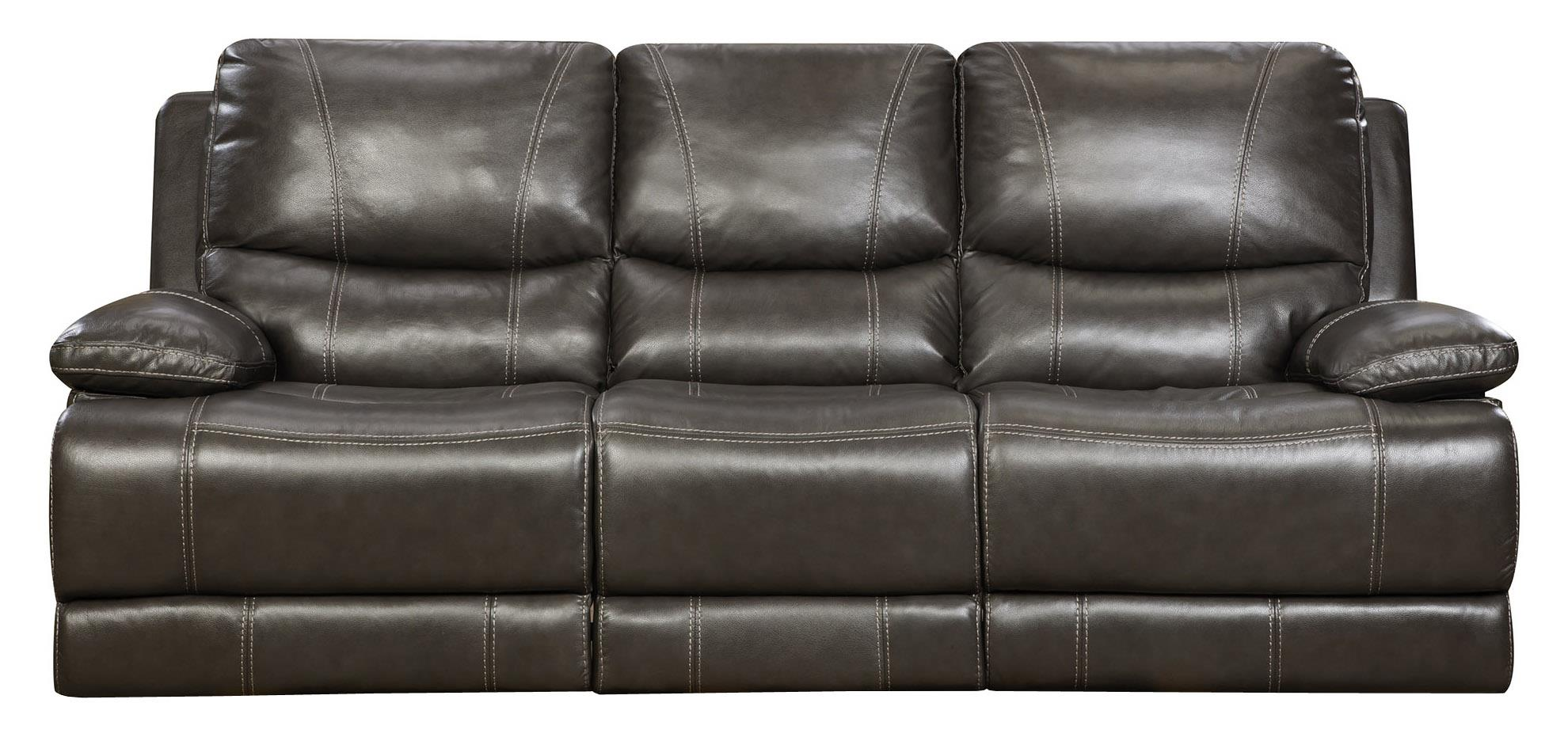 Corinthian 42801 Reclining Sofa - Item Number: 42801-30-Made_Out_Grey