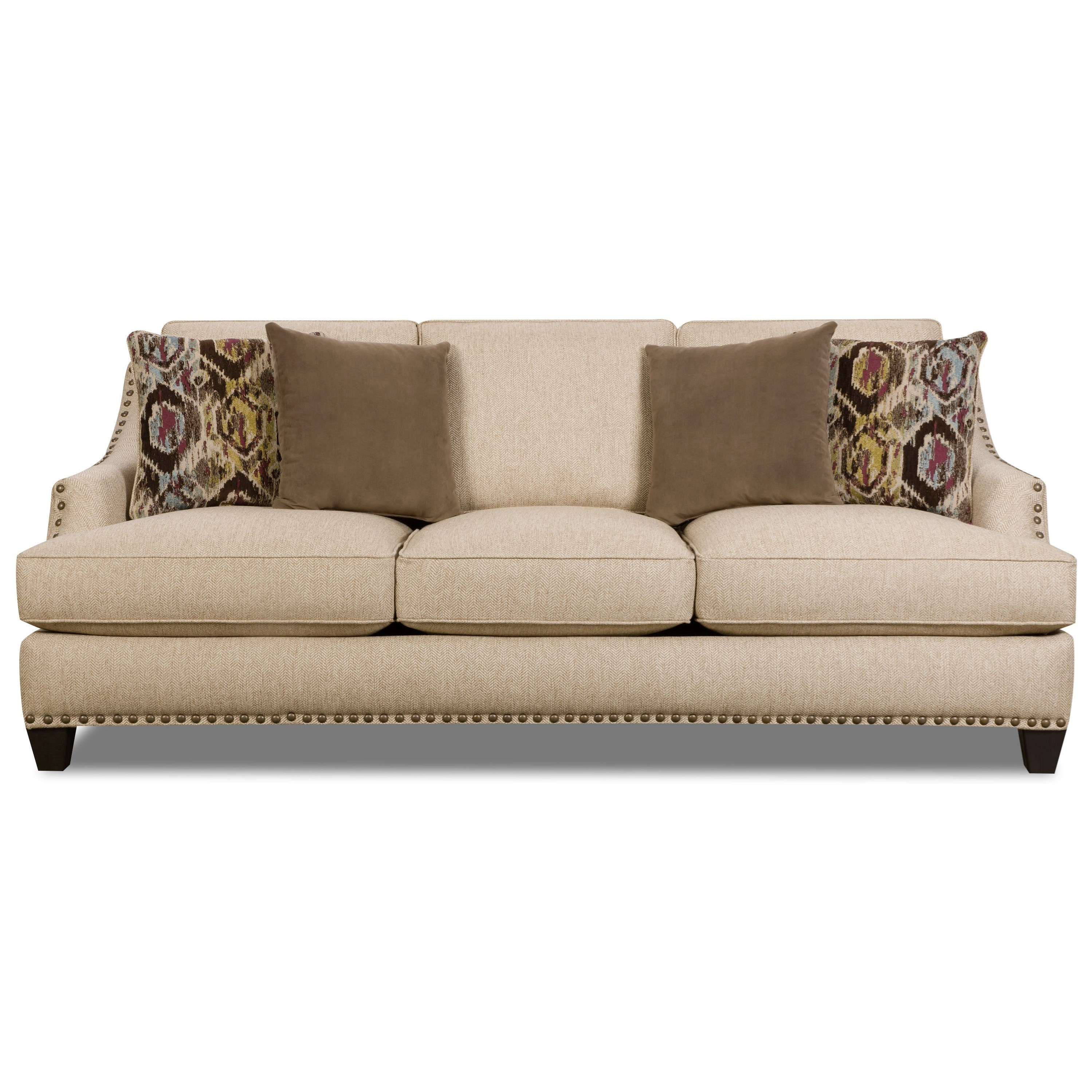 Corinthian 5300 Traditional Styled Sectional Sofa With: Corinthian Sofa Corinthian Furniture Raymour Flanigan