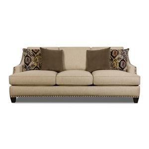 Corinthian Jute Jute Sofa