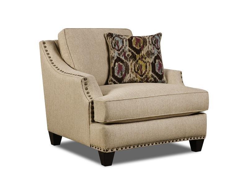 Corinthian Jute Jute Chair - Item Number: CORI-44A1