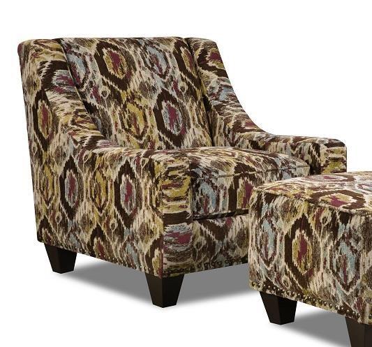 Corinthian 44A Bodega Accent Chair - Item Number: CORI-AC2044A