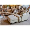 Corinthian Jute Sofa, Chair, and Ottoman - Item Number: GRP-44AX-SCO