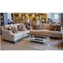 Corinthian Jute Sofa & Loveseat - Item Number: GRP-44AX-SL