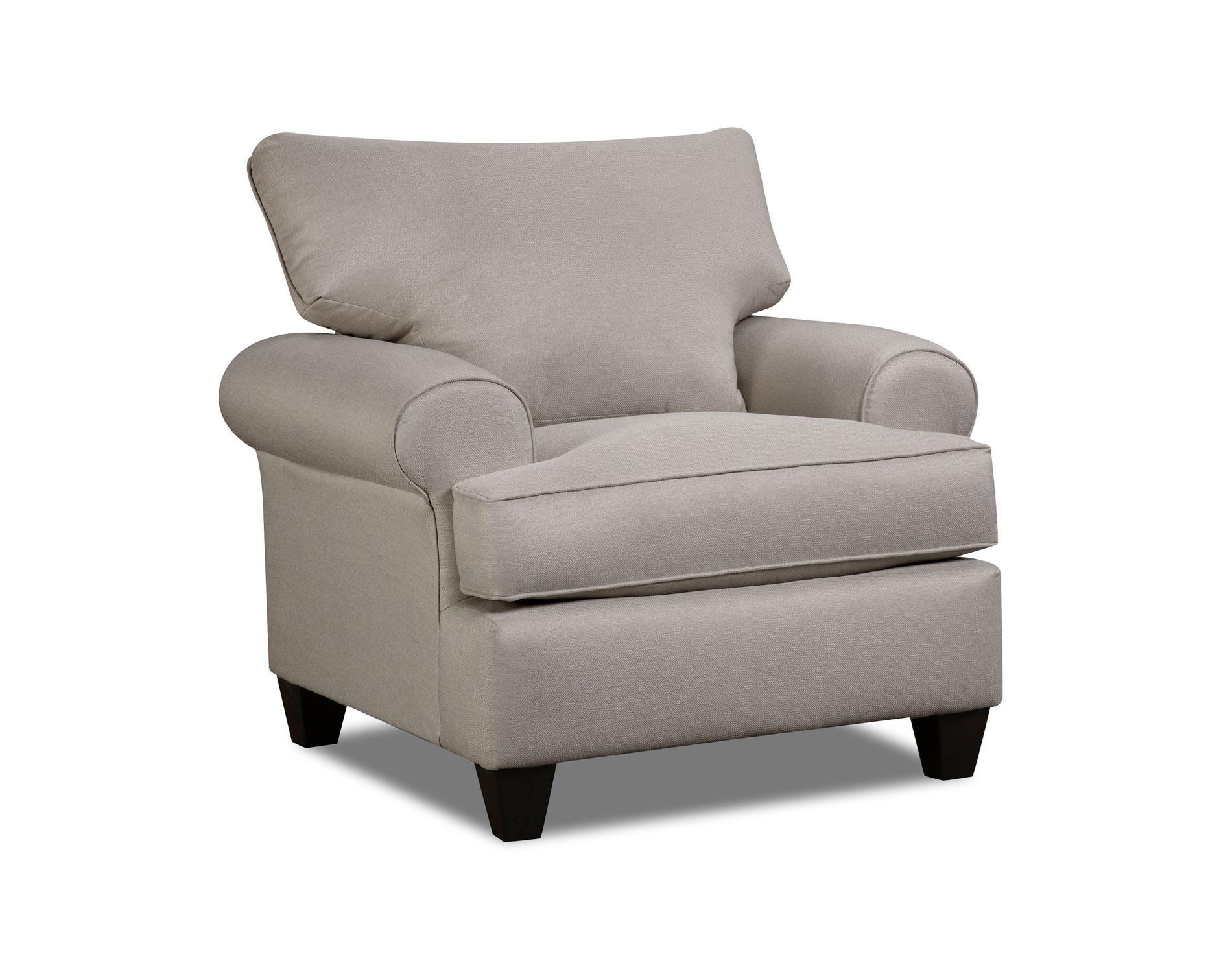 Corinthian Hogan Nickel Chair - Item Number: 47G1