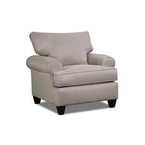 Corinthian Hogan Nickel Chair