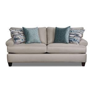 Corinthian Hogan Nickel Sofa