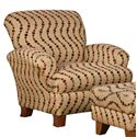 Corinthian 5400  Accent Chair - Item Number: AC954