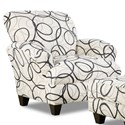 Corinthian Dreamcatcher Steel Specialty Accent Chair - Item Number: AC958