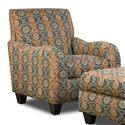 Corinthian 5510  Accent Chair - Item Number: AC1655