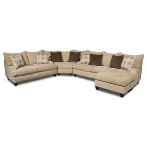 Corinthian 5520 Sectional Sofa
