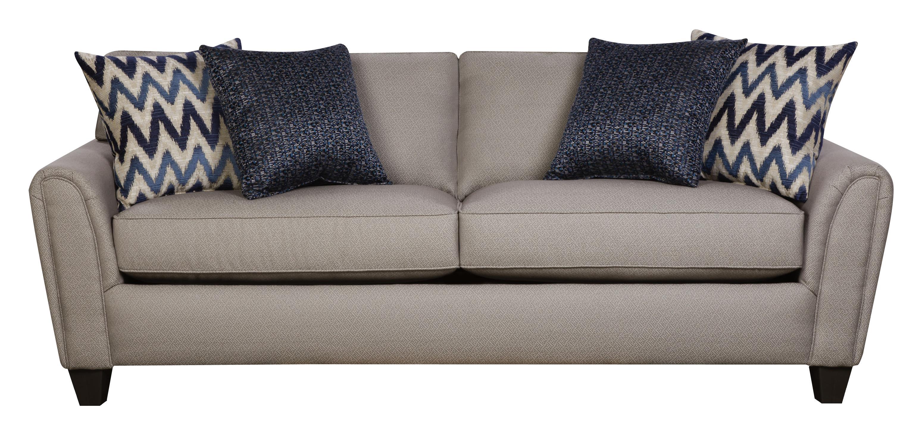 Corinthian 55A0 Sofa - Item Number: 55A3-Goldmine-Slate