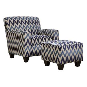 Corinthian 55A0 Chair and Ottoman