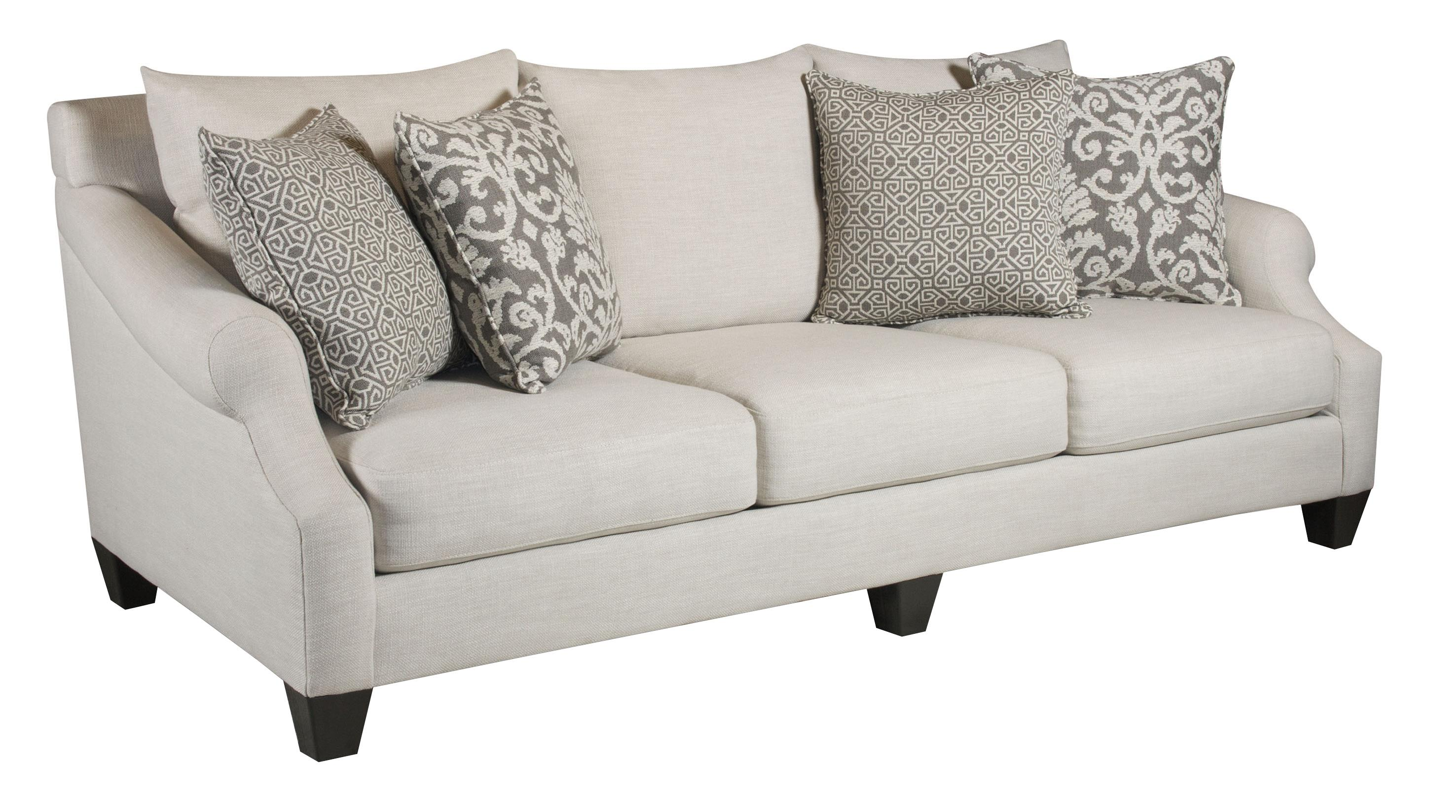 Corinthian 56A0 Sofa - Item Number: 56A3-Lavish-Cream