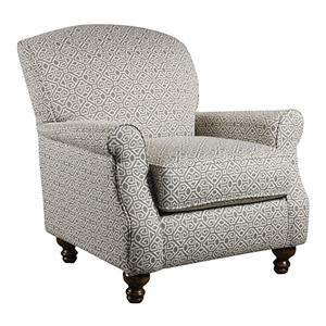 Corinthian 56A0 Contrast Accent Chair